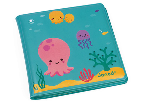 Janod - Livre de bain magique
