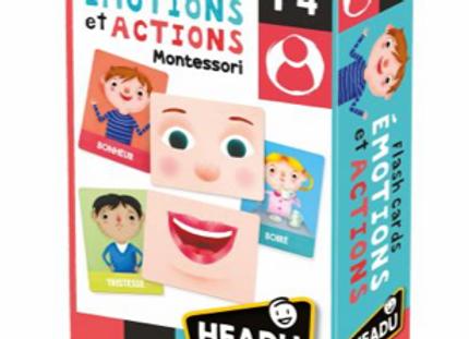 Flashcards Émotions et Actions Montessori