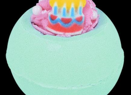 "Boule de bain ""happy birthday"""