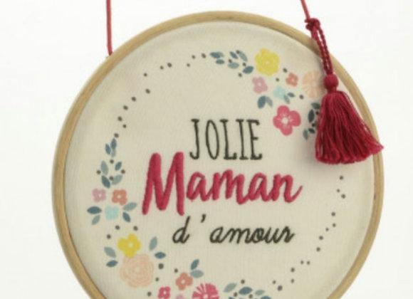 Déco murale Jolie maman d'amour
