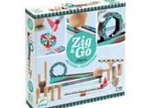 Circuit de billes Zig and Go 28 pieces