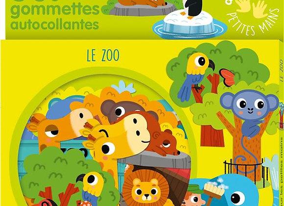 50 grandes gommettes le zoo