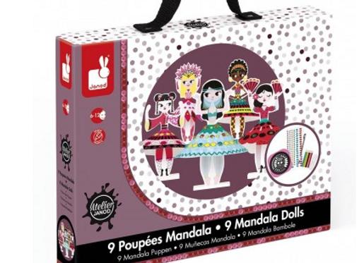 Janos - Mandala princesses du monde