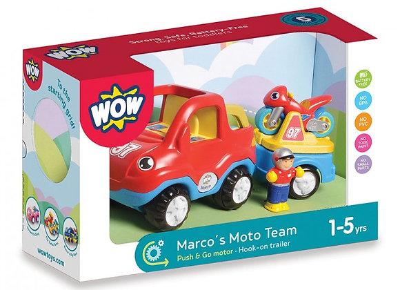 L'équipe Moto de Marco