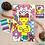 Thumbnail: POPPIK - Poster géant + 1600 stickers  Pop Art