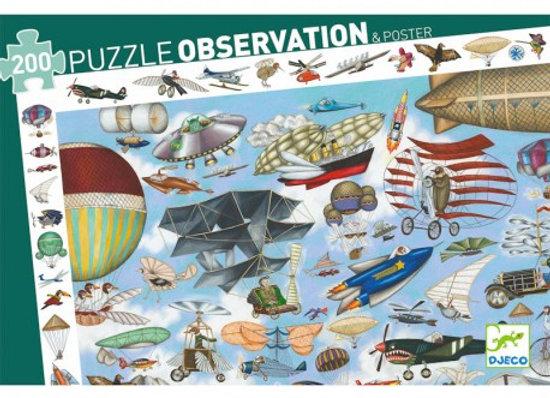 Puzzle 'Aéro Club' 200 pièces - Deco