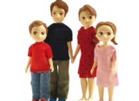 Figurines Famille Thomas et Marion