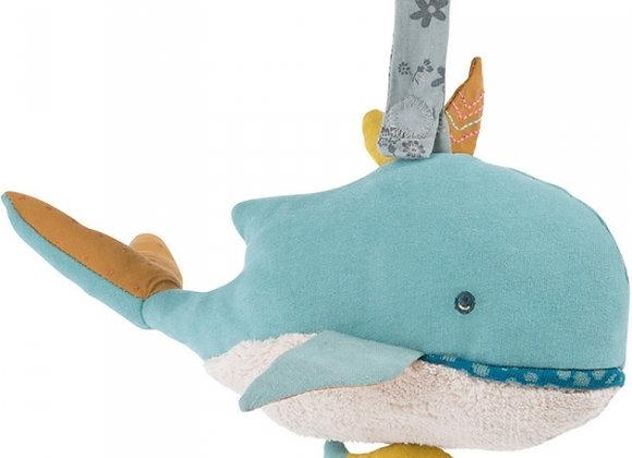 peluce musicale Joséphine la baleine