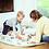 Thumbnail: Sac de rangement de jouets et tapis de jeux alphabet