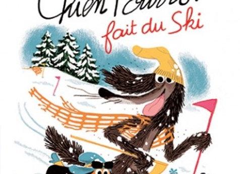 Livre Chien Pourri fait du ski