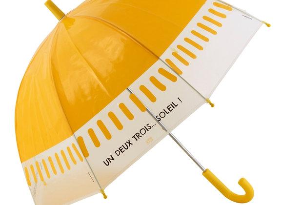 Parapluie enfants  Un, deux, trois...soleil!