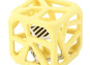 Le cube de dentition jaune de la marque Malarkey kids