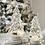 Thumbnail: Petit sapin  verre avec lumières LED - (972)