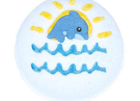 Boule de bain dauphin