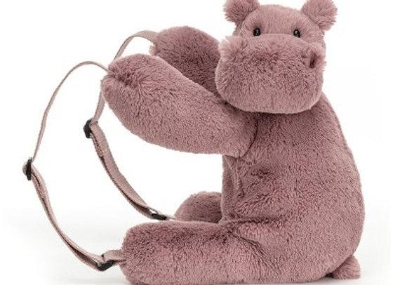 Petit Sac peluche hippo
