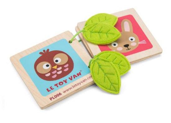 Le Toy Van - Livre de la forêt en bois