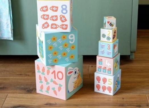 BabyBloki Cubes