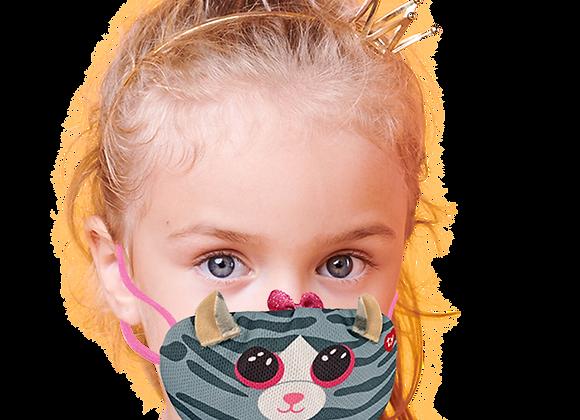 Masque Kiki - chat gris
