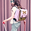 Thumbnail: Grand Cartable Libellule  Cartable 41cm, idéal pour les grandes filles de CE2, C