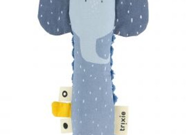 Hochet allongé Mrs. Elephant