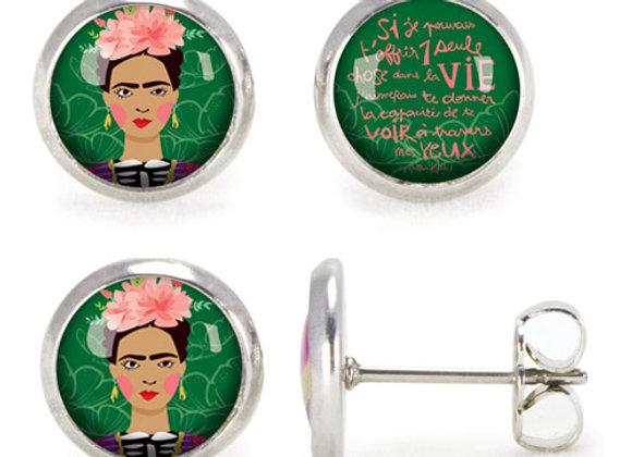 Puces d'oreilles Les Parisiennes /Frida