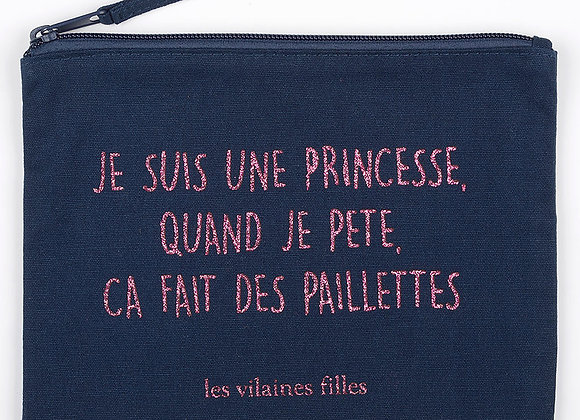 "Trousse maquillage ""princesse qui Pete"""