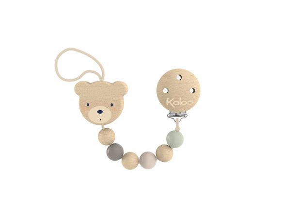 Attache-tétine ours - Kaloo