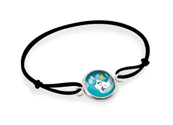 Bracelet Les Minis  - Licorne Bleue