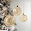 Thumbnail: Boule dorée led - 3 tailles