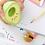 Thumbnail: Set de gomme + taille-crayon - Avocat