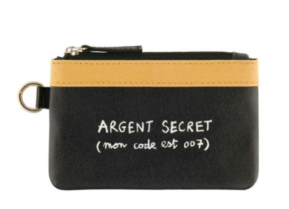 Porte monnaie argent secret