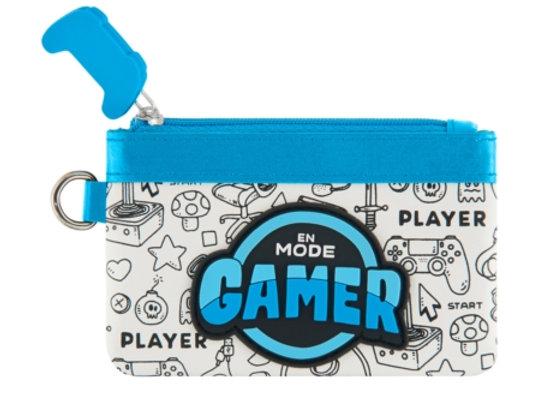 Porte monnaie mode gamer