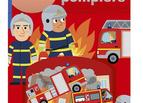 80  gommettes pompiers