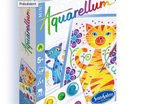 """Aquarellum Mini """"Chats"""""""