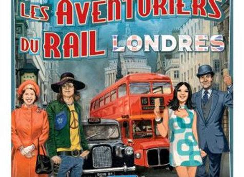 le jeu Les aventuriers du rail Londres  +8ans
