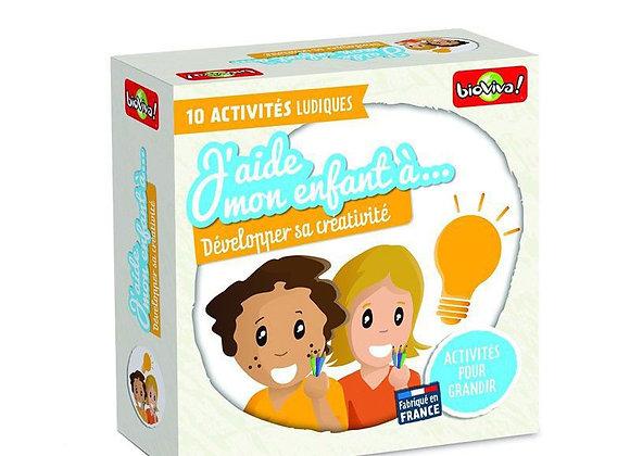 J'aide mon enfant à développer sa créativité- Bioviva