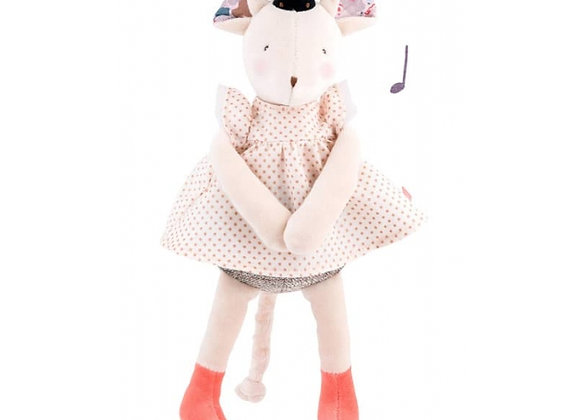 Poupée musicale souris - Moulin Roty