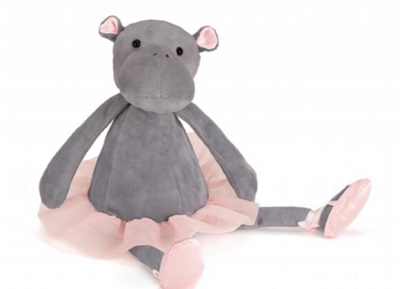 Jellycat Dancing Darcey Hippo - 33cm