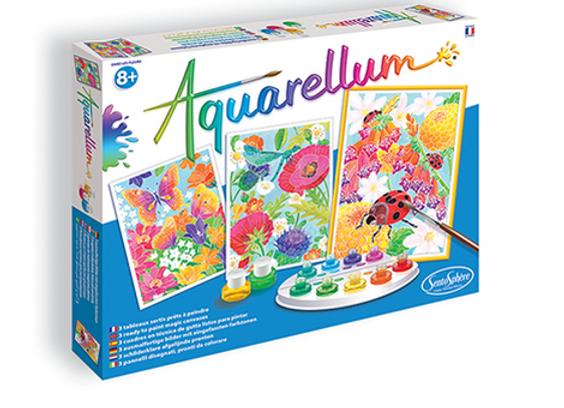 """Aquarellum """"Dans les Fleurs"""""""
