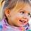 Thumbnail: Puces d'oreilles Licornes / arc en ciel