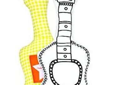 La Guitare à colorier Marielle Bazard - Label Tour