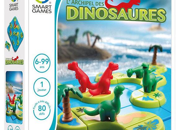 Smartgames - l'archipel des dinosaures