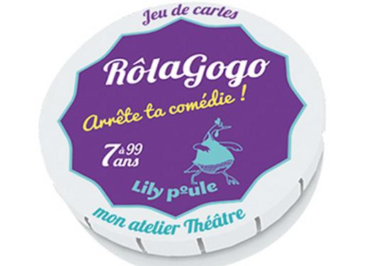 Rolagogo - mime/ théâtre- Lily poule