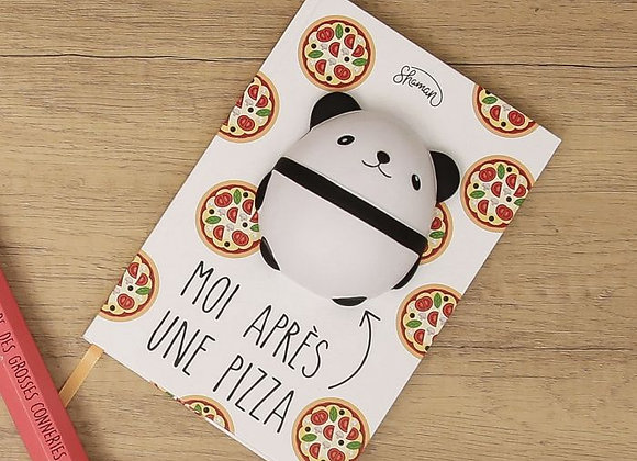 cahier Squishy panda