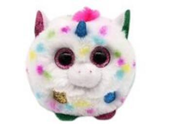 Puffies Harmony licorne multicolore