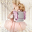 Thumbnail: Sac Papillon Paillettes Argent & Rose