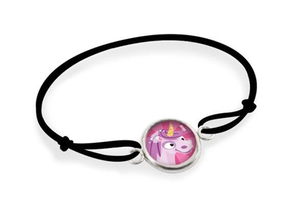 Bracelet Les Minis  - Licorne Rose