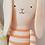 Thumbnail: Grand Lapin marin tricoté Meri Meri