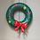 Thumbnail: Couronne de Noël gonflable - La chaise longue
