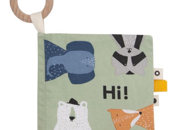 Livre en tissu - 4 animaux